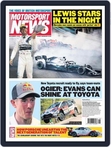 Motorsport News (Digital) December 4th, 2019 Issue Cover