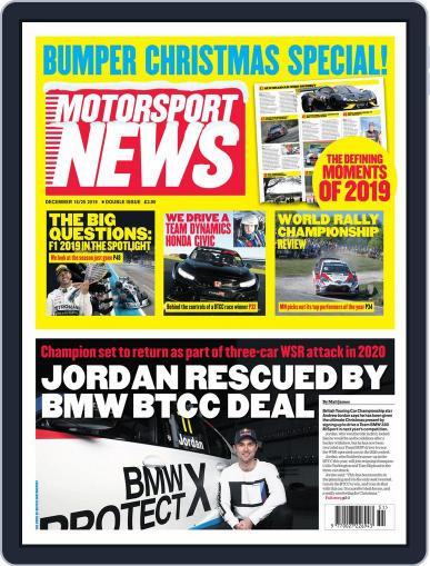 Motorsport News (Digital) December 18th, 2019 Issue Cover