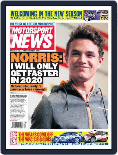 Motorsport News (Digital) January 15th, 2020 Issue Cover