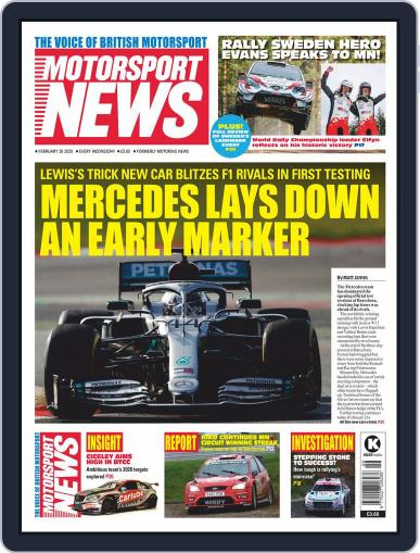 Motorsport News February 26th, 2020 Digital Back Issue Cover