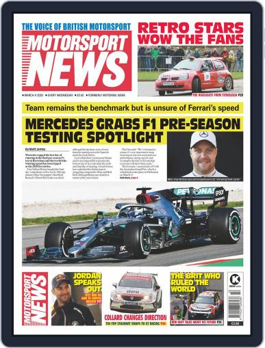 Motorsport News March 4th, 2020 Digital Back Issue Cover