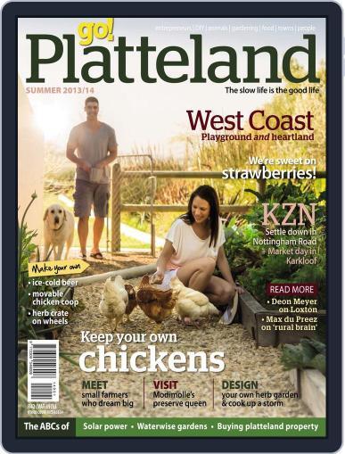 go! Platteland November 21st, 2013 Digital Back Issue Cover