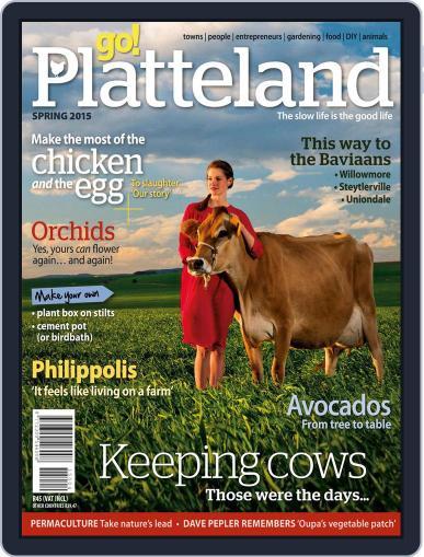 go! Platteland (Digital) August 31st, 2015 Issue Cover