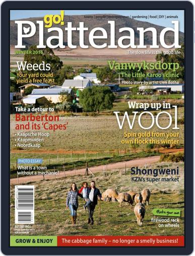 go! Platteland (Digital) May 30th, 2016 Issue Cover