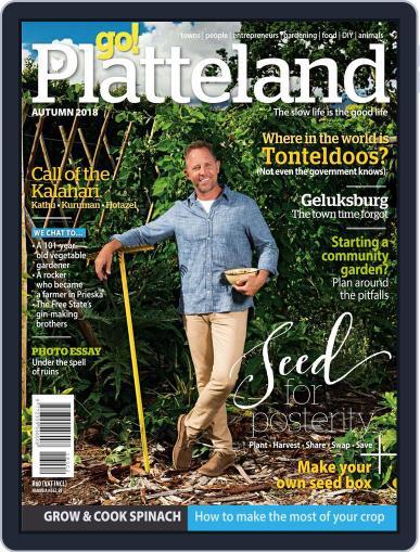 go! Platteland March 1st, 2018 Digital Back Issue Cover