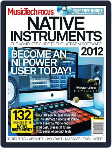 Music Tech Focus October 17th, 2011 Digital Back Issue Cover