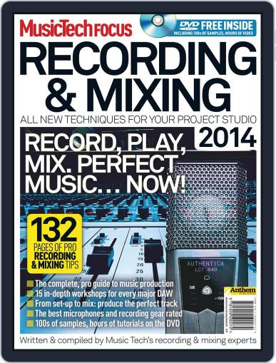 Music Tech Focus June 5th, 2014 Digital Back Issue Cover