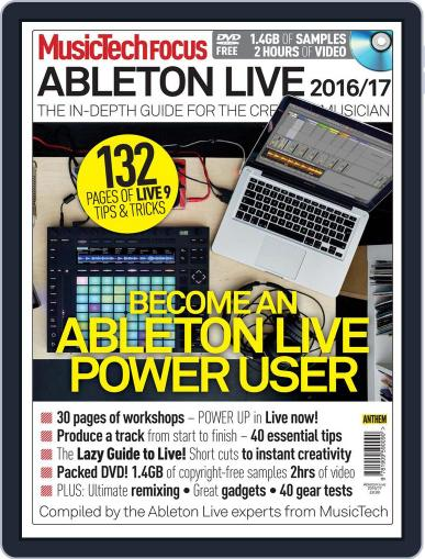 Music Tech Focus August 1st, 2016 Digital Back Issue Cover