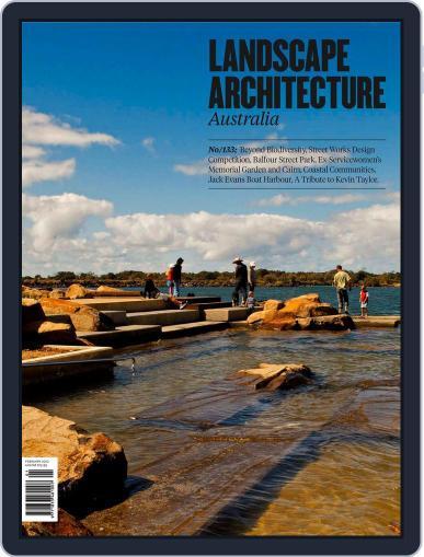 Landscape Architecture Australia (Digital) February 26th, 2012 Issue Cover