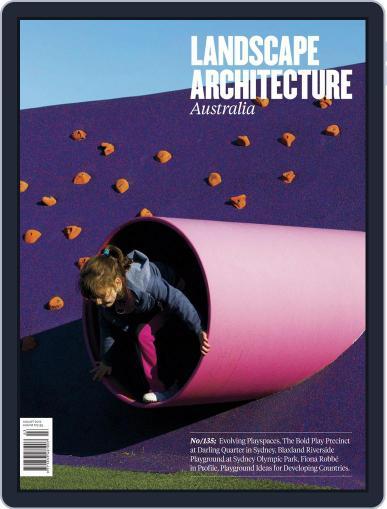 Landscape Architecture Australia July 31st, 2012 Digital Back Issue Cover