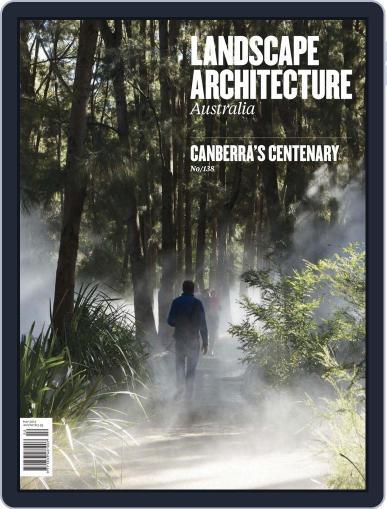 Landscape Architecture Australia (Digital) April 28th, 2013 Issue Cover