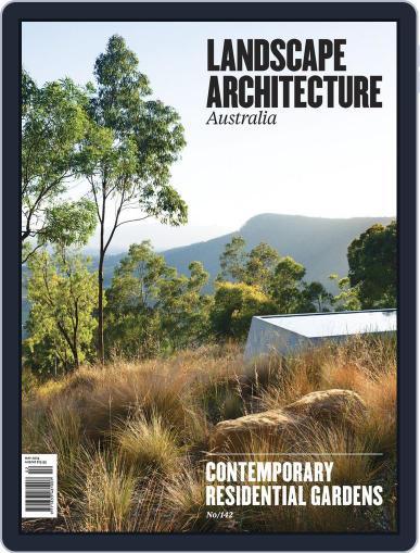 Landscape Architecture Australia April 28th, 2014 Digital Back Issue Cover