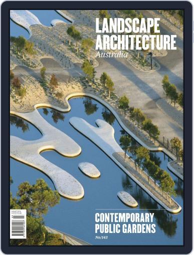 Landscape Architecture Australia (Digital) July 27th, 2014 Issue Cover