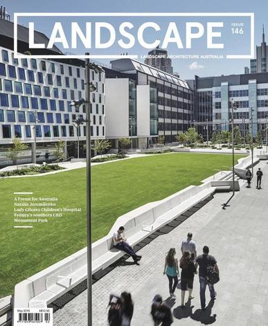 Landscape Architecture Australia (Digital) May 4th, 2015 Issue Cover