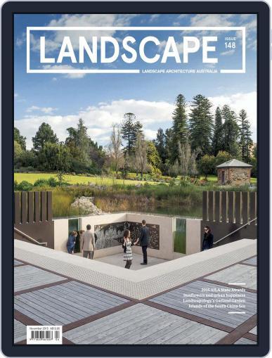 Landscape Architecture Australia (Digital) October 18th, 2015 Issue Cover