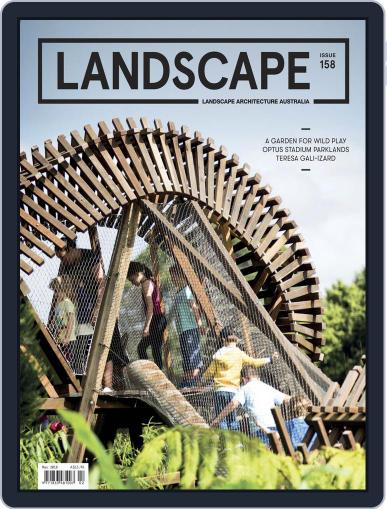 Landscape Architecture Australia (Digital) May 1st, 2018 Issue Cover