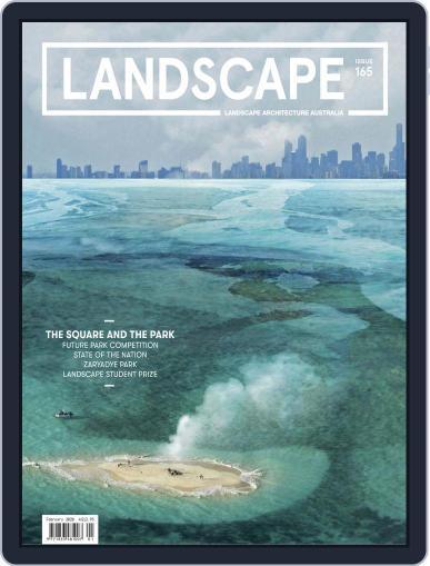 Landscape Architecture Australia (Digital) February 1st, 2020 Issue Cover