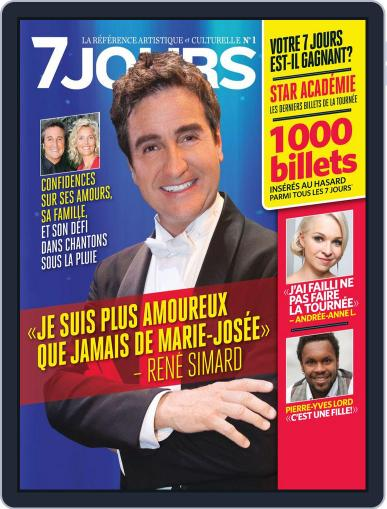 7 Jours (Digital) July 10th, 2012 Issue Cover