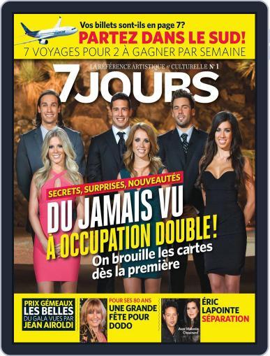 7 Jours (Digital) September 20th, 2012 Issue Cover