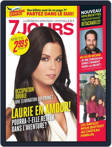 7 Jours October 11th, 2012 Digital Back Issue Cover