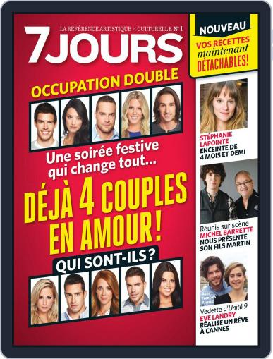 7 Jours (Digital) October 18th, 2012 Issue Cover