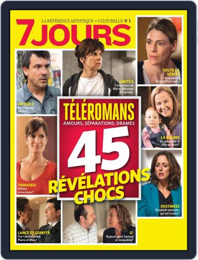 7 Jours (Digital) October 25th, 2012 Issue Cover