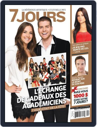 7 Jours (Digital) November 15th, 2012 Issue Cover