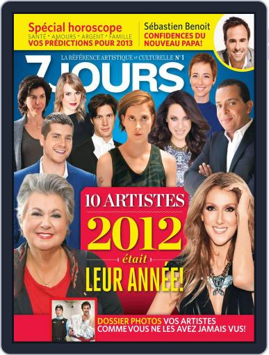 7 Jours December 20th, 2012 Digital Back Issue Cover