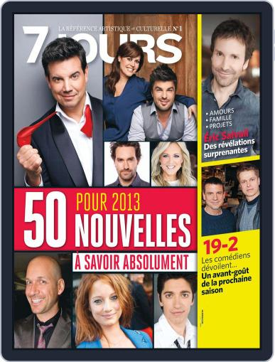 7 Jours December 27th, 2012 Digital Back Issue Cover