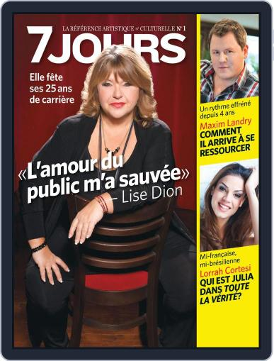 7 Jours (Digital) January 3rd, 2013 Issue Cover
