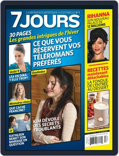 7 Jours (Digital) January 10th, 2013 Issue Cover