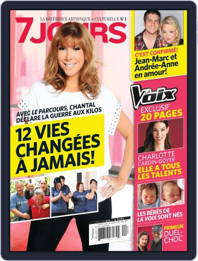 7 Jours (Digital) February 28th, 2013 Issue Cover