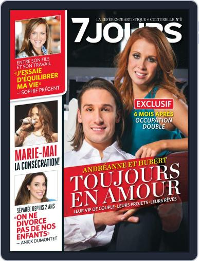 7 Jours (Digital) May 9th, 2013 Issue Cover