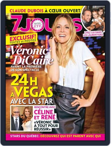 7 Jours (Digital) June 20th, 2013 Issue Cover