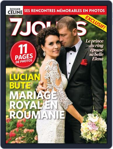 7 Jours (Digital) July 18th, 2013 Issue Cover