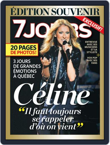 7 Jours (Digital) August 1st, 2013 Issue Cover