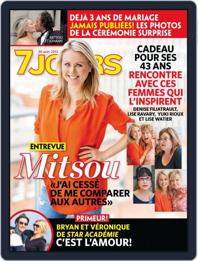 7 Jours (Digital) August 22nd, 2013 Issue Cover
