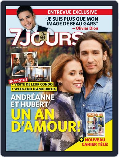 7 Jours (Digital) November 7th, 2013 Issue Cover