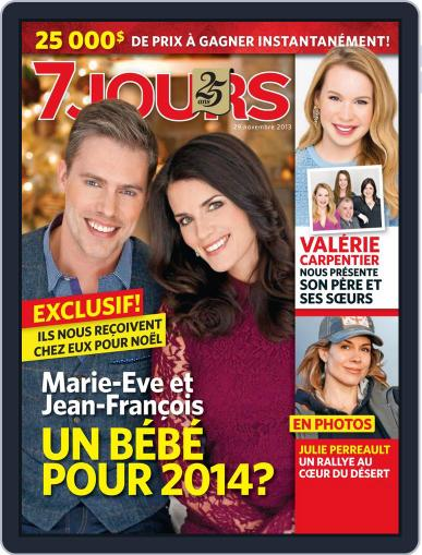 7 Jours (Digital) November 22nd, 2013 Issue Cover