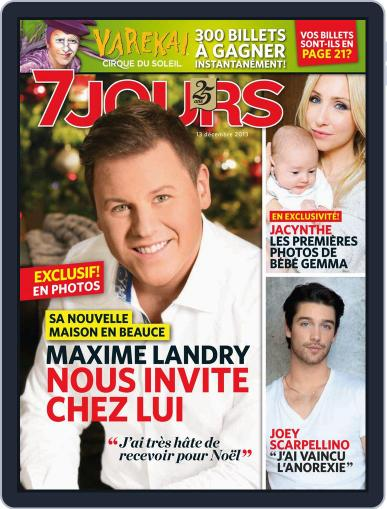 7 Jours (Digital) December 5th, 2013 Issue Cover