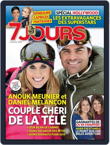 7 Jours December 26th, 2013 Digital Back Issue Cover