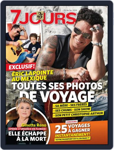 7 Jours (Digital) February 21st, 2014 Issue Cover