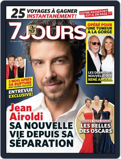 7 Jours March 6th, 2014 Digital Back Issue Cover