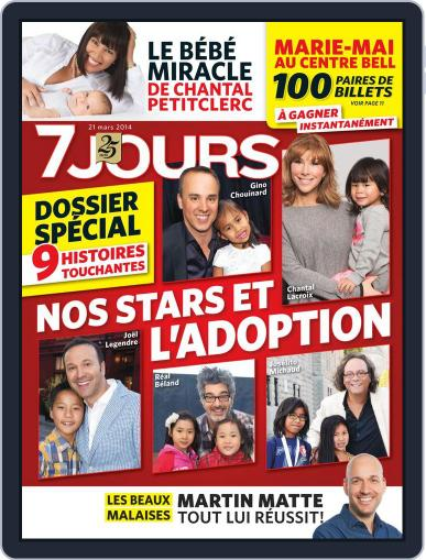 7 Jours (Digital) March 13th, 2014 Issue Cover