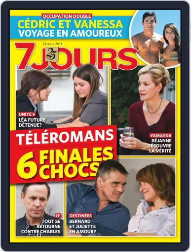 7 Jours (Digital) March 20th, 2014 Issue Cover