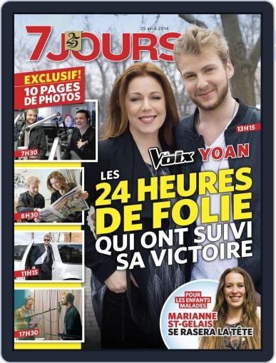 7 Jours (Digital) April 17th, 2014 Issue Cover