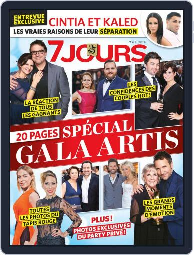 7 Jours May 1st, 2014 Digital Back Issue Cover