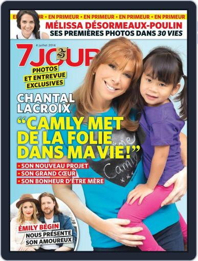 7 Jours (Digital) June 26th, 2014 Issue Cover