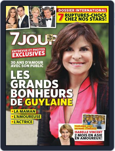 7 Jours (Digital) July 11th, 2014 Issue Cover