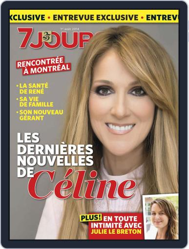 7 Jours (Digital) July 24th, 2014 Issue Cover